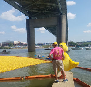 Fairfield Resident Wins 23rd Annual Rubber Duck Regatta